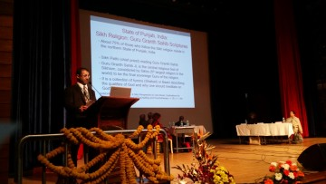 Dr. Bedi giving his keynote speech at the jointly held 3rd International Conference on Counselling, Psychotherapy and Wellness and the 4th Congress of the Society for Integrating Traditional Healing into Counselling, Psychotherapy, and Psychiatry