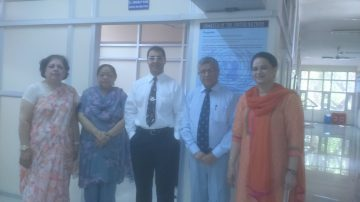May 2016: Dr. Bedi presented two counselling workshops at Panjab University in Chandigarh, India