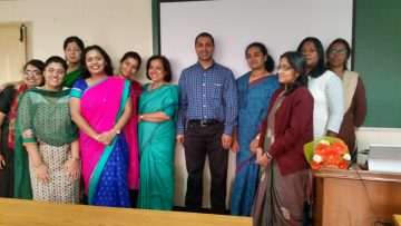 June 2014: Dr. Bedi gives lecture at Jain University