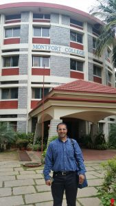 June 2016: Dr. Bedi visits Montford College – the first counselling psychology master's program in India