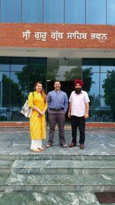 May, July-Aug 2016: Dr. Bedi as Visiting Faculty at Punjabi University in Patiala, India
