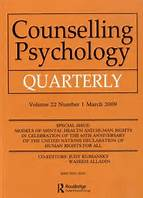 April 2016: Counselling Psychology in Canada