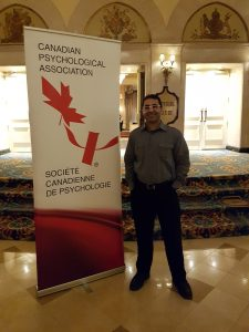 June 2017: Dr. Bedi and three presentations at the annual convention of the Canadian Psychological Association