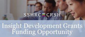 June 2018: SSHRC Insight Development Grant awarded to Dr. Bedi