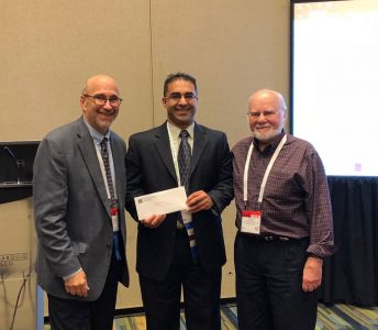 August 2018: Dr. Bedi receives Gelso Grant at APA Division 29 Awards Ceremony